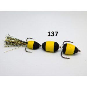 Mandula model 137 3 segmenti 2 culori galben/negru